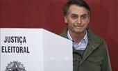 Ứng cử viên đảng cực hữu Bolsonaro giành chiến thắng bầu cử Tổng thống Brazil
