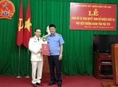 Trao quyết định bổ nhiệm Phó Viện trưởng VKSND tỉnh Phú Yên, Lào Cai