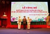 Công an tỉnh Lào Cai có thêm hai Phó Giám đốc mới