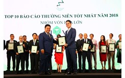 Novaland là thương hiệu BĐS được vinh danh trong lễ trao giải cuộc bình chọn doanh nghiệp niêm yết 2018