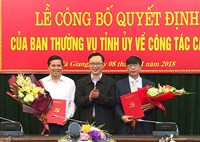 Nhân sự mới Nghệ An, Hà Giang, TPHCM, Điện Biên, Hậu Giang