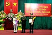 Giám đốc Công an Thừa Thiên Huế được điều động về UBKT Đảng ủy Công an Trung ương