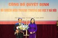 Trường Đại học Y Hà Nội có tân Hiệu trưởng