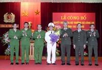 Công an tỉnh Yên Bái có Phó Giám đốc mới