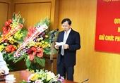 Ông Phan Văn Kiệm thôi giữ chức Phó Chủ tịch Viện Hàn lâm KH CN Việt Nam