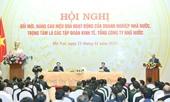 Thủ tướng Nguyễn Xuân Phúc Kiên quyết không để tình trạng sân trước, sân sau