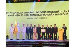 Tập đoàn T T Group đón nhận huân chương Lao động hạng Nhất lần thứ 2 và ra mắt bộ nhận diện thương hiệu mới