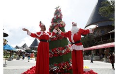 Một trong những điểm vui chơi Giáng sinh tuyệt nhất miền Trung là đây