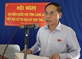 Phê chuẩn kết quả miễn nhiệm chức vụ Phó Chủ tịch UBND tỉnh Long An