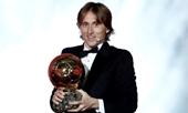Luka Modric giành danh hiệu Quả bóng vàng 2018