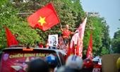 Hà Nội rực đỏ trước trận đấu Việt Nam - Philippines