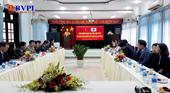 Đoàn Học viện Tư pháp Hàn Quốc thăm và làm việc với VKSND cấp cao tại Đà Nẵng