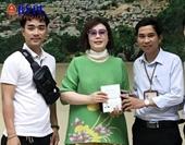 Trao trả lại 70 triệu đồng cho du khách Hàn Quốc