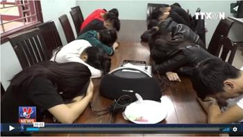 Bắt quả tang nhóm thanh niên thuê căn hộ sử dụng ma túy tại Đà Nẵng