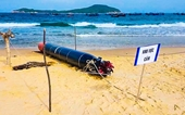 UBND tỉnh Phú Yên chỉ đạo xác minh vật thể lạ trôi dạt trên vùng biển Tuy An
