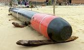 Đã tìm ra chủ nhân của quả ngư lôi trôi dạt vào bờ biển Phú Yên