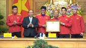 Liên tiếp lập công, đội tuyển Việt Nam nhận nhiều phần thưởng cao quý