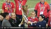 Tuyển Việt Nam thắng thuyết phục, thầy Park giành giải HLV xuất sắc nhất AFF Cup 2018