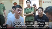 Nhóm người Trung Quốc làm thẻ ATM giả trong biệt thự