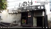 Khám nghiệm hiện trường vụ cháy nhà hàng Ruby khiến 6 người chết