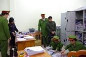 Khởi tố bị can, bắt tạm giam 2 cán bộ Phòng NN PTNN huyện Bắc Quang