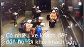 Camera ghi lại cảnh 152 khách Việt bỏ hành lý ở khách sạn trước khi mất tích