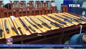 Triệt phá đường dây mua bán vũ khí qua mạng quy mô lớn