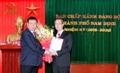 Bổ nhiệm Trưởng Ban Tổ chức Tỉnh ủy, Bí thư Thành ủy Nam Định