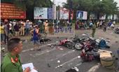 Hiện trường như đánh bom vụ xe container gây tai nạn thảm khốc