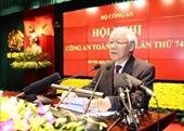Tổng Bí thư, Chủ tịch nước Nguyễn Phú Trọng dự Hội nghị Công an toàn quốc lần thứ 74