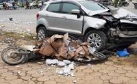 Tài xế lái ô tô điên đâm chết 2 vợ chồng ở Hà Nội ra trình diện