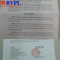 Ông Trần Quang Nam không còn là Hiệu trưởng trường Đại học Ngoại ngữ-Tin học