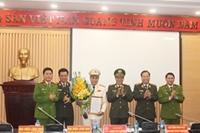 Đại tá Nguyễn Thanh Tùng giữ chức Thủ trưởng Cơ quan CSĐT Công an TP Hà Nội
