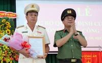 Công an tỉnh Long An có tân Phó Giám đốc