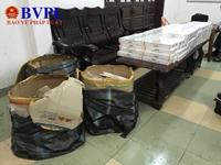 Bắt giữ lô thuốc lá lậu vận chuyển từ Thanh Hóa vào Ninh Thuận