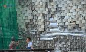 Cưỡng chế tháo dỡ bức tường nguy hiểm dự án Biệt thự Marina Hill Nha Trang