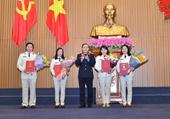 VKSND tối cao bổ nhiệm lãnh đạo cấp phòng một số đơn vị trực thuộc
