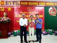 VKSND tỉnh Đồng Tháp có Viện trưởng mới
