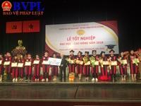 Trường Đại học Ngoại ngữ - Tin học TP HCM trao bằng cử nhân cho hơn 1000 sinh viên