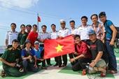 """Đội tuyển Việt Nam gửi """"niềm tin chiến thắng"""" đến với chiến sĩ nơi đảo xa"""