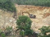 Yêu cầu kiểm điểm trách nhiệm để xảy ra tình trạng khai thác đá trái phép tại núi Hòn Chà