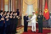 Đồng chí Tô Lâm và đồng chí Lương Cường được phong quân hàm Đại tướng