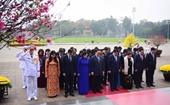 Lãnh đạo Đảng, Nhà nước viếng Chủ tịch Hồ Chí Minh và tưởng niệm Anh hùng liệt sĩ