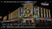 Phố phường Hà Nội rực rỡ sắc màu chờ đón giây phút giao thừa
