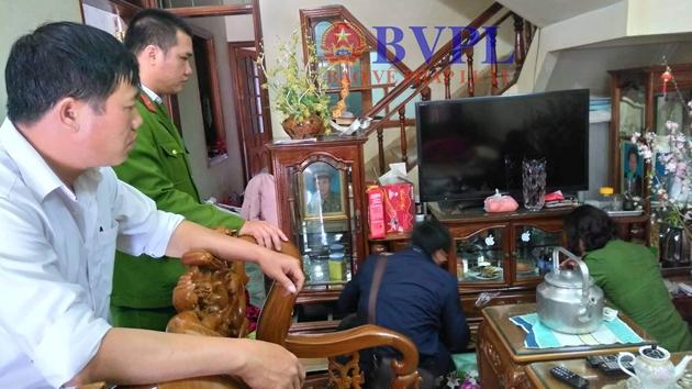 Đang khám nhà nghi phạm sát hại nữ sinh viên ở Điện Biên - 2