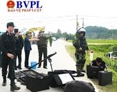 Hiện trường ám ảnh vụ tội phạm ma túy sử dụng vũ khí tử thủ ở Hà Tĩnh