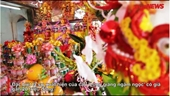 Cận cảnh mâm lễ khủng nhất đền Trần với cặp Long giáng ngậm ngọc