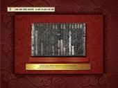 Trưng bày Quốc hiệu và Kinh đô nước Việt trong Mộc bản Triều Nguyễn