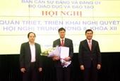 Trao quyết định chuẩn y Bí thư Đảng ủy Bộ Giáo dục và Đào tạo