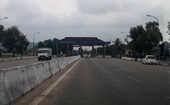 Chính thức tạm dừng thu phí tại Trạm thu phí Cầu Rác